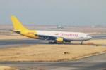 ガス屋のヨッシーさんが、関西国際空港で撮影したエアー・ホンコン A300B4-622R(F)の航空フォト(写真)