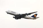 ガス屋のヨッシーさんが、関西国際空港で撮影したルフトハンザドイツ航空 747-430の航空フォト(写真)