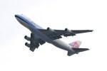 ガス屋のヨッシーさんが、関西国際空港で撮影したチャイナエアライン 747-409F/SCDの航空フォト(写真)