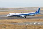 ガス屋のヨッシーさんが、関西国際空港で撮影した全日空 A321-211の航空フォト(写真)