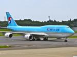 今ちゃんさんが、成田国際空港で撮影した大韓航空 747-8B5の航空フォト(写真)