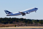 jjieさんが、成田国際空港で撮影したキャセイパシフィック航空 747-412(BCF)の航空フォト(写真)