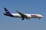 よしポンさんが、成田国際空港で撮影したフェデックス・エクスプレス 777-FS2の航空フォト(写真)