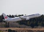 jjieさんが、成田国際空港で撮影した日本航空 737-846の航空フォト(写真)