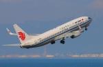Tomo_ritoguriさんが、中部国際空港で撮影した中国国際航空 737-89Lの航空フォト(写真)