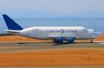 Tomo_ritoguriさんが、中部国際空港で撮影したボーイング 747-4H6(LCF) Dreamlifterの航空フォト(写真)