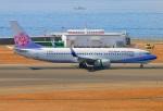 Tomo_ritoguriさんが、中部国際空港で撮影したチャイナエアライン 737-8ALの航空フォト(写真)