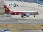 KIX787-9さんが、関西国際空港で撮影した天津航空 A320-214の航空フォト(写真)
