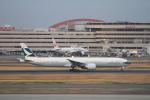 ja007gさんが、羽田空港で撮影したキャセイパシフィック航空 777-367/ERの航空フォト(写真)
