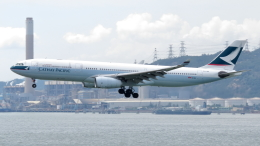 誘喜さんが、香港国際空港で撮影したキャセイパシフィック航空 A330-343Xの航空フォト(写真)
