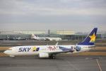安芸あすかさんが、羽田空港で撮影したスカイマーク 737-86Nの航空フォト(写真)