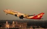 JL1011さんが、シドニー国際空港で撮影したカンタス航空 747-438/ERの航空フォト(写真)