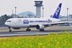 うらしまさんが、高松空港で撮影した全日空 767-381/ERの航空フォト(写真)