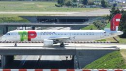 誘喜さんが、パリ オルリー空港で撮影したTAP ポルトガル航空 A321-211の航空フォト(写真)