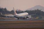 神宮寺ももさんが、高松空港で撮影したチャイナエアライン 737-8ALの航空フォト(写真)