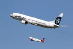 LAX Spotterさんが、ロサンゼルス国際空港で撮影したアラスカ航空 737-990の航空フォト(写真)