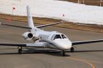 noriphotoさんが、札幌飛行場で撮影した中日本航空 560 Citation Vの航空フォト(写真)
