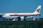 トロピカルさんが、成田国際空港で撮影したタイ国際航空 A300B4-605Rの航空フォト(写真)