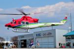 Soraya_Projectさんが、栃木ヘリポートで撮影した栃木県消防防災航空隊 412EPの航空フォト(写真)
