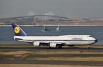 リリココさんが、羽田空港で撮影したルフトハンザドイツ航空 747-830の航空フォト(写真)