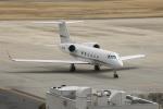 ピーチさんが、岡山空港で撮影したアメリカ個人所有 Gulfstream Aerospaceの航空フォト(写真)
