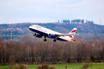 まいけるさんが、ミュンヘン・フランツヨーゼフシュトラウス空港で撮影したブリティッシュ・エアウェイズ A320-232の航空フォト(写真)
