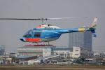 だっちんさんが、八尾空港で撮影した中日本航空 206B JetRanger IIの航空フォト(写真)