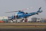 だっちんさんが、八尾空港で撮影した奈良県警察 A109E Powerの航空フォト(写真)