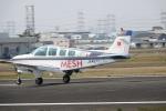 だっちんさんが、八尾空港で撮影した東銀リース A36 Bonanza 36の航空フォト(写真)