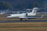 撮り撮り人さんが、岡山空港で撮影したアメリカ個人所有 G350/G450の航空フォト(写真)
