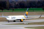 まいけるさんが、ミュンヘン・フランツヨーゼフシュトラウス空港で撮影したコンドル 767-330/ERの航空フォト(写真)