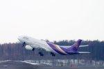 kitayocchiさんが、新千歳空港で撮影したタイ国際航空 A330-343Xの航空フォト(写真)