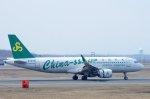 kitayocchiさんが、新千歳空港で撮影した春秋航空 A320-214の航空フォト(写真)