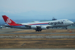 こーき747さんが、小松空港で撮影したカーゴルクス 747-8R7F/SCDの航空フォト(写真)