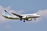 sonnyさんが、成田国際空港で撮影したエアプサン A320-232の航空フォト(写真)