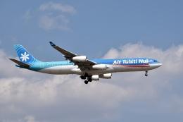 sonnyさんが、成田国際空港で撮影したエア・タヒチ・ヌイ A340-313Xの航空フォト(写真)