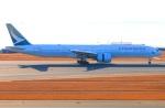Tomo_ritoguriさんが、中部国際空港で撮影したキャセイパシフィック航空 777-367/ERの航空フォト(写真)