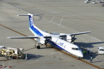 せせらぎさんが、中部国際空港で撮影したANAウイングス DHC-8-402Q Dash 8の航空フォト(写真)