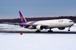 Ariesさんが、新千歳空港で撮影したタイ国際航空 777-3D7の航空フォト(写真)