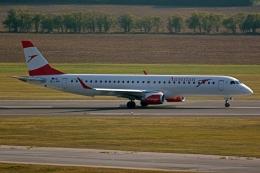 kansai-spotterさんが、ウィーン国際空港で撮影したオーストリア航空 ERJ-190-200 LR (ERJ-195LR)の航空フォト(写真)
