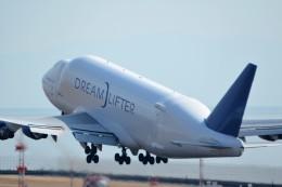 LGM1928さんが、中部国際空港で撮影したボーイング 747-409(LCF) Dreamlifterの航空フォト(写真)