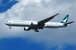 nh747dさんが、成田国際空港で撮影したキャセイパシフィック航空 777-367の航空フォト(写真)