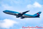 Euro Spotterさんが、香港国際空港で撮影した大韓航空 747-8B5の航空フォト(写真)