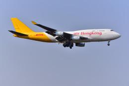 はるかのパパさんが、成田国際空港で撮影したエアー・ホンコン 747-444(BCF)の航空フォト(写真)