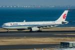 みぐさんが、羽田空港で撮影した中国国際航空 A330-343Xの航空フォト(写真)