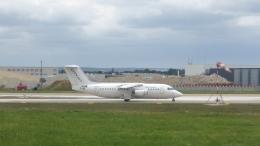 誘喜さんが、パリ オルリー空港で撮影したシティジェット Avro 146-RJ85Aの航空フォト(写真)