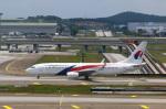 takaRJNSさんが、クアラルンプール国際空港で撮影したマレーシア航空 737-8H6の航空フォト(写真)