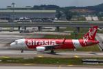 takaRJNSさんが、クアラルンプール国際空港で撮影したエアアジア A320-216の航空フォト(写真)