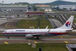 takaRJNSさんが、クアラルンプール国際空港で撮影したマレーシア航空 737-8FZの航空フォト(写真)