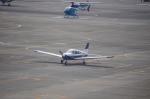 ライトブルーレフトさんが、名古屋飛行場で撮影した個人所有 PA-28-181 Archer IIの航空フォト(写真)